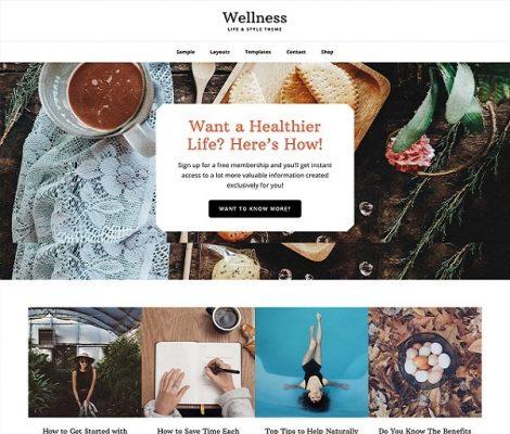 StudioPress Wellness Pro WordPress Theme
