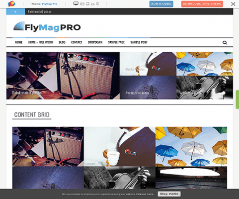 ThemeIsle Flymag Pro WordPress Theme