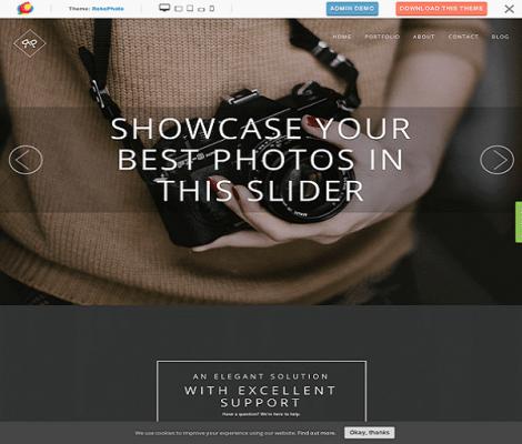 ThemeIsle RokoPhoto WordPress Theme