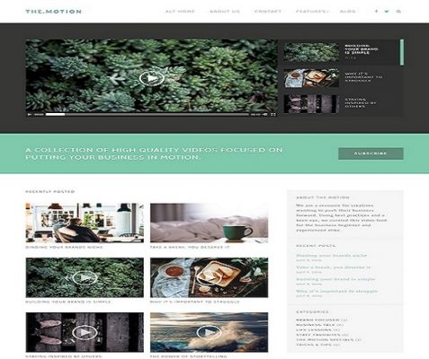 ThemeIsle The Motion WordPress Theme