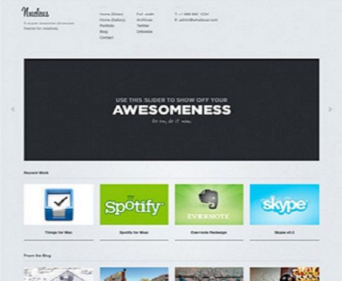 ThemeZilla Nucleus WordPress Theme