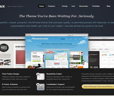 ThemeZilla Redux WordPress Theme