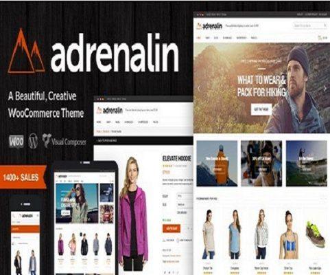 Themeforest Adrenalin Multi-Purpose WooCommerce Theme