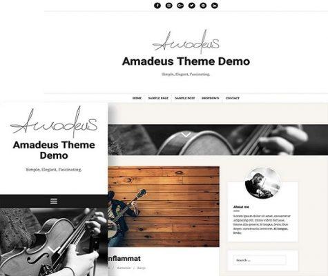 Themeisle Amadeus Pro WordPress Theme