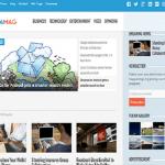 aquamag wordpress theme