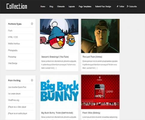 Collection WordPress Theme 1