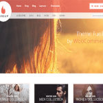 fireup wordpress theme