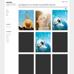 graph paper press gridspace wordpress theme