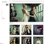 graph paper press sell photos wordpress theme