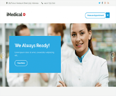 imedical wordpress theme