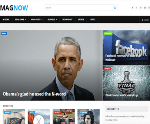 magnow wordpress theme