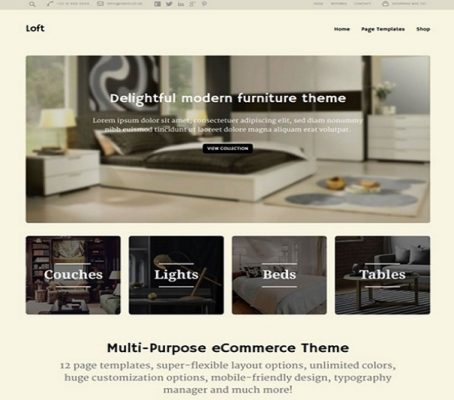 obox themes loft wordpress theme