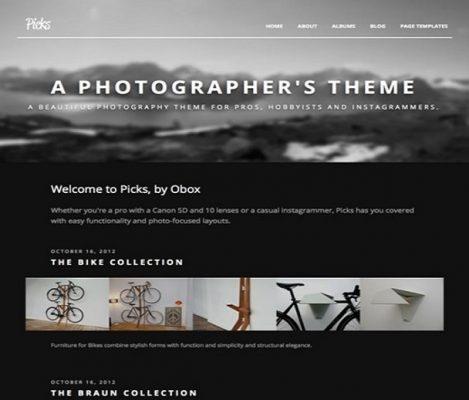 obox themes picks wordpress theme