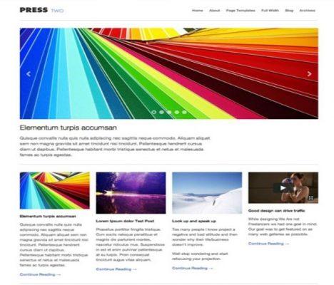 Obox Themes Press Two WordPress Theme 1