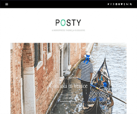 posty wordpress theme