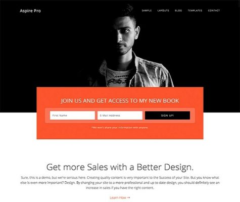 studiopress aspire pro wordpress theme