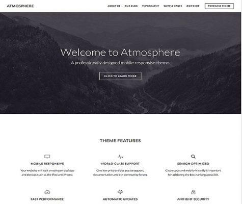 studiopress atmosphere pro wordpress theme