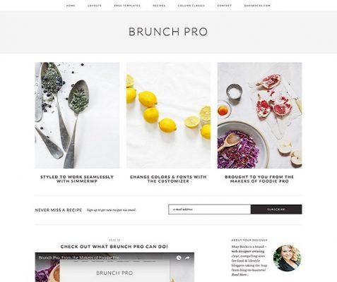 StudioPress Brunch Pro WordPress Theme