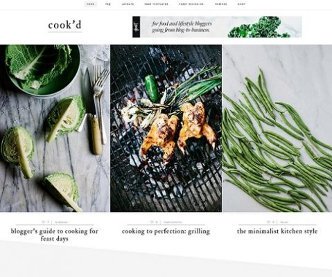 studiopress cook'd pro wordpress theme