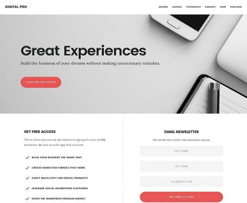 studiopress digital pro wordpress theme