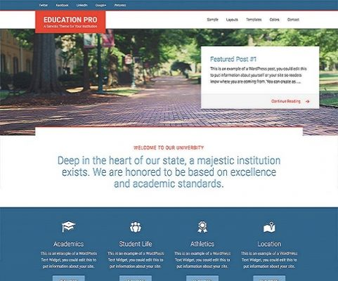 StudioPress Education Pro WordPress Theme