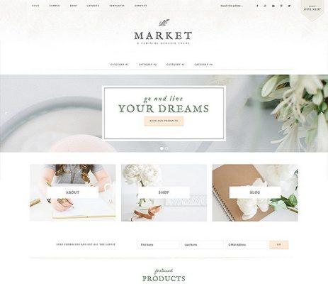 studiopress market wordpress theme