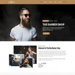Premium Moto Theme Barber Shop