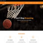 Premium Moto Theme Basketball