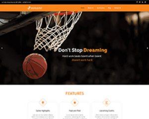 Premium Moto Theme Basketball