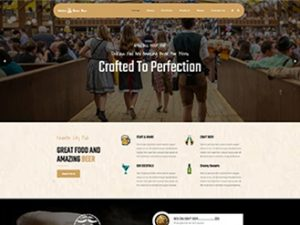 Premium Moto Theme Beer Bar
