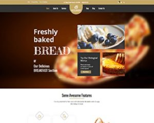 Premium Moto Theme Bread and Breakfast