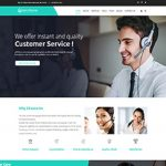 Premium Moto Theme Call Center