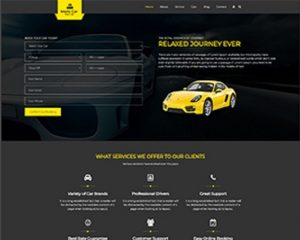 Premium Moto Theme Car Rental 1