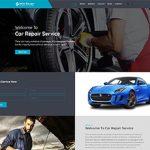 Premium Moto Theme Car Repair