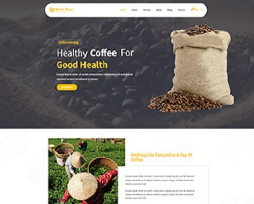 Premium Moto Theme Coffee Beans 1