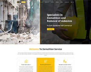 Premium Moto Theme Demolition Services 1