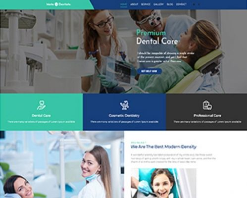 Premium Moto Theme Dentists