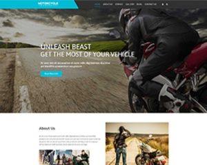 Premium Moto Theme Motorcycle Workshop
