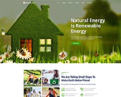 Premium Moto Theme Eco Recycling