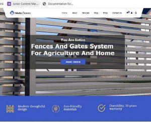 Premium Moto Theme Fences and Gates
