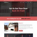 Premium Moto Theme Garage Door Services