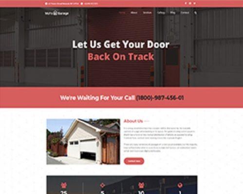 Premium Moto Theme Garage Door Services 1