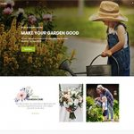 Premium Moto Theme Garden Care