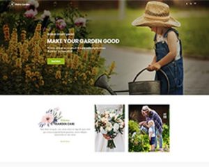 Premium Moto Theme Garden Care 1