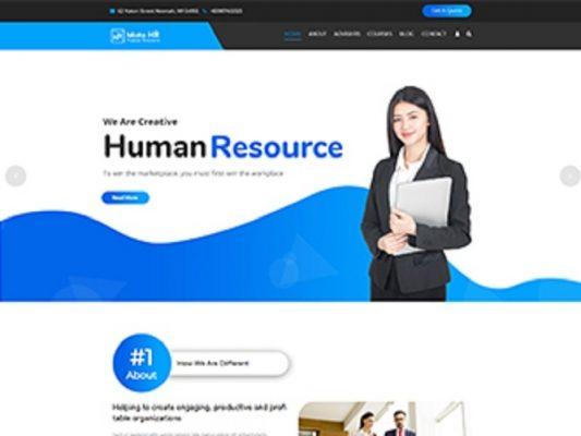 Premium Moto Theme Human Resource 1