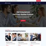 Premium Moto Theme Insurance
