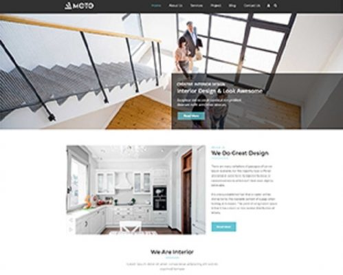 Premium Moto Theme Interior Design
