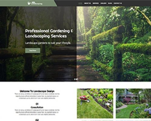 Premium Moto Theme Landscaping 1