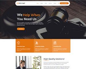 Premium Moto Theme Legal Services 1