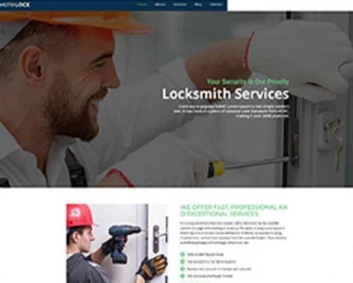 Premium Moto Theme Locksmith